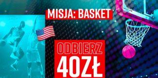 Promocja bukmacherska koszykówka basket